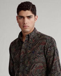 Sztruksowa koszula Custom Fit