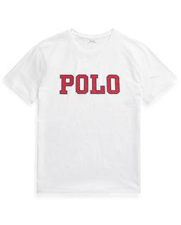 Biała koszulka z logo