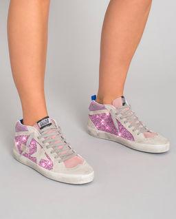 Brokatowe sneakersy Midstar