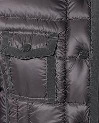 Szary płaszcz puchowy