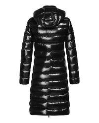 Czarny płaszcz puchowy Moka