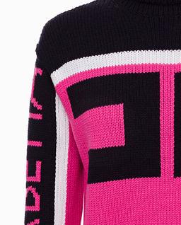 Sweter z dużym logo