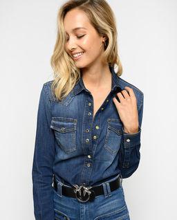 Klasyczna jeansowa koszula