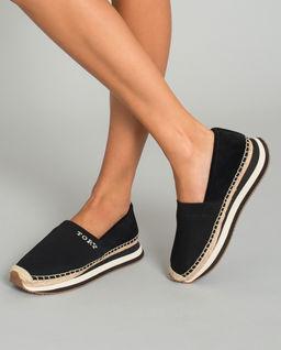 Czarne sneakersy Daisy