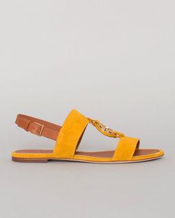 Żółte sandały Miller