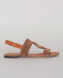 Brązowe sandały Miller