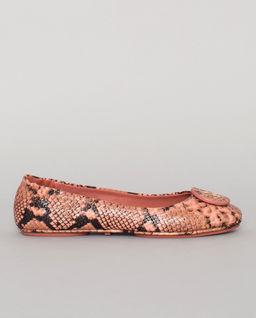 Baleriny z motywem skóry węża