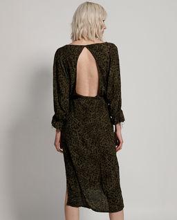 Sukienka w cętki