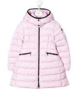 Różowy płaszcz puchowy 4-10 lat