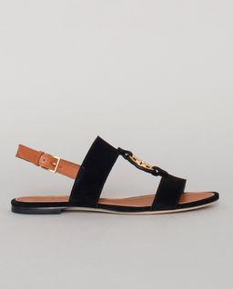 Czarne sandały Miller
