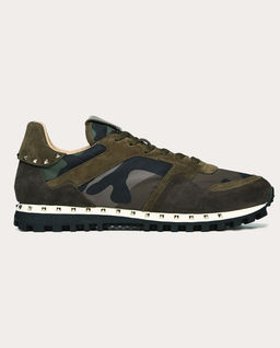 Sneakersy Studded Camouflage