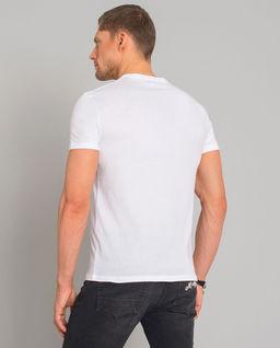 Biały t-shirt z grafiką