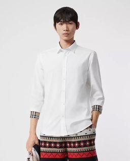 Biała koszula Oxford