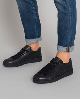 Czarne sneakersy Tennix