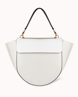 Biała torebka Hortensia Big