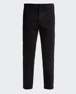 Czarne spodnie chino