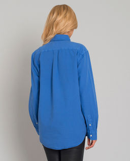 Niebieska koszula Relaxed Fit