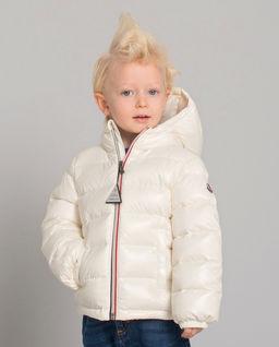 Biała kurtka puchowa 0-3 lat