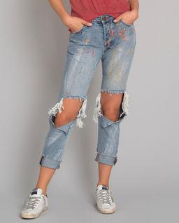 Spodnie jeansowe Saints
