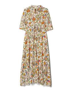 Sukienka maxi z nadrukiem