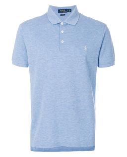 Niebieska koszulka Slim Fit