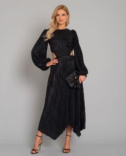 Błyszcząca sukienka maxi Alexis