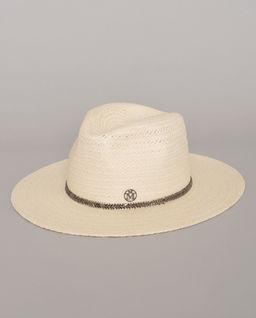 Biały kapelusz Henrietta