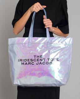 Holograficzna torebka shopper