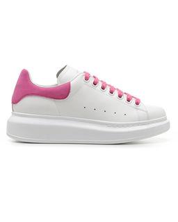 Sneakersy z podeszwą 4 cm
