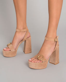 Beżowe sandały Zandra