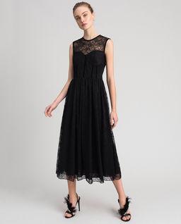 Koronkowa sukienka midi