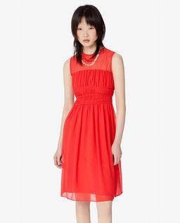 Červené mini šaty