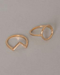 Zestaw dwóch pierścionków