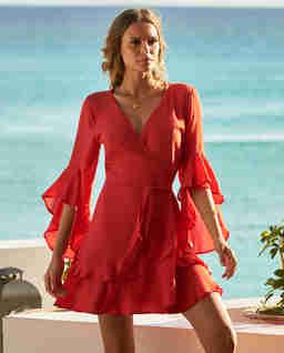 Czerwona sukienka Kirsty