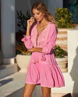 Bawełniana sukienka Millie Rose