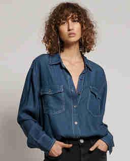 Jeansowa koszula Rodeo Blue
