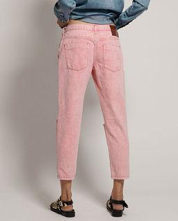 Różowe jeansy Evil Eye