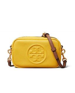 Żółta torebka Perry Bombe