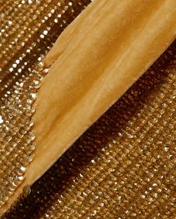 Zlaté šaty s flitry