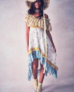 Kolorowa sukienka Alexia