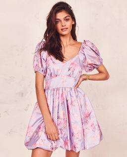 Fioletowa sukienka Hansel