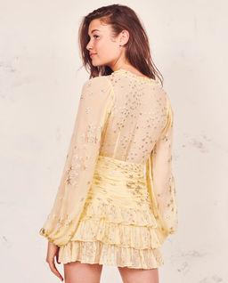 Sukienka z jedwabiu Rina