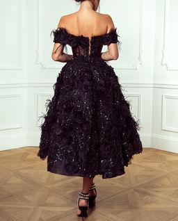 EDYCJA LIMITOWANA Czarna suknia balowa Esmeralda