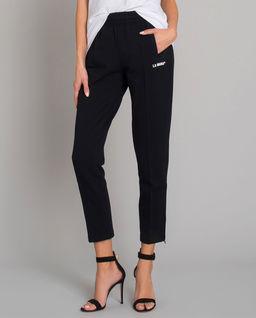 Czarne spodnie Troy