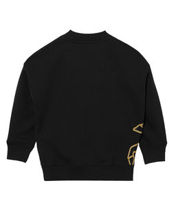 Czarna bluza z jednorożcem 6-14 lat