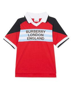 Koszulka polo z logo 3-14 lat