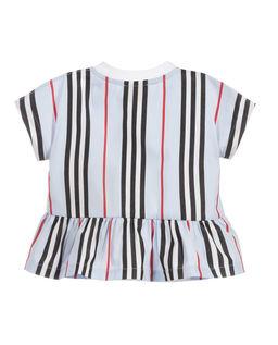 Biała koszulka z bawełny 0-2 lat