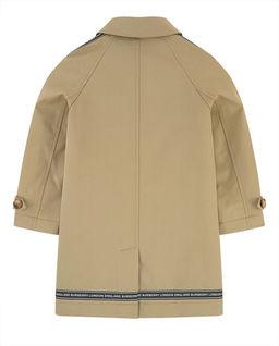 Beżowy płaszcz 6-10 lat