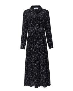 Jedwabna sukienka w kropki Bastia