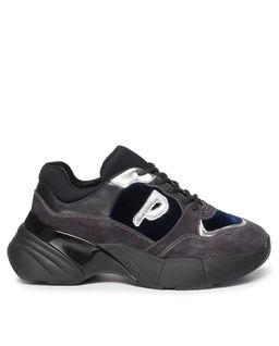 Sneakersy na koturnie Olivo